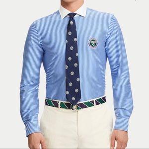 POLO RALPH LAUREN Wimbledon Umpire Striped Shirt